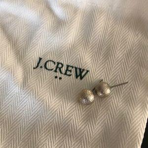 J. Crew gold studs